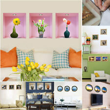 Home Room PVC Removable 3D Magic DIY Wall Decoration Art Sticker Decal