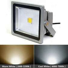 LED Flood Light 50W Warm/Cold White Outdoor Lamp Garden Yard Wall Light 85-265V