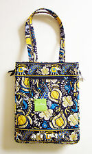 Vera Bradley Laptop Travel Tote Ellie Blue New with Tags