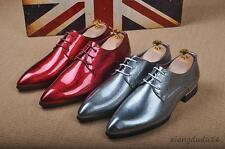 YT dress formal loafers leisure Bling bling men' wing tip lace-up shoes new Hot