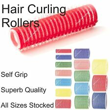 Professional Self Cling Hair Curling Rollers VARIOUS sizes and colours stocked