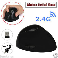 2.4G Wireless Ergonomic Optical USB Vertical Mouse Mice 1600 DPI For PC Laptop