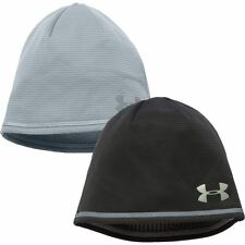 2017 Under Armour ColdGear Infrared NoBreaks Microthread Beanie Mens Winter Hat