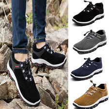 Vogue Slip On Loafers Suede Trekking Shoes Men's Sports Oxfords Casual Sneakers
