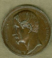 1848 French Medal for Napoleon III and His Election to President, by Montagny