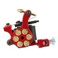 Bullet Design Dual 10 Wrap Coils Liner & Shader Set Tattoo Gun Machine