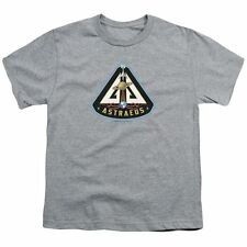 Eureka/Astraeus Mission Patch Short Sleeve Youth 18/1 in Silver