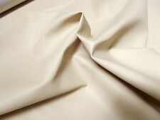 Faux LEATHER Leatherette PVC Vinyl Upholstery Fabric Material - CREAM