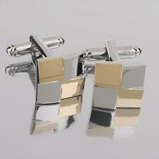 Cool Mens Square Shirt Cufflinks Wedding Party Jewelry Accessories