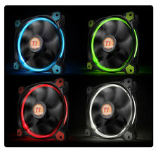 [Thermaltake] Riing 14 High Static Pressure LED Radiator Fan, 140mm,3pin