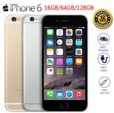 Unlocked Apple iPhone 6/5S/4S 8/16/32/64/128GB GSM  Smartphone (Latest Model)