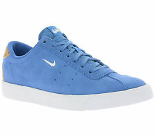 NEW NIKE Match Classic Suede Shoes Men's Sneakers Sneakers Blue Real leather WOW