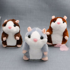 Cute Toy Mimicry Pet Speak Talking Record Chat Hamster Mouse Plush Kids Toy