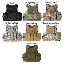 Airsoft Tactical Military Molle Combat Assault Plate Carrier Vest Tactical Vest