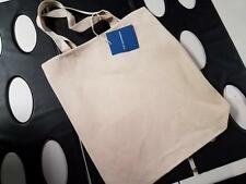 Port Authority Canvas Cotton Tote Bag Shopping NEW CLEARANCE Liberty Clark earth