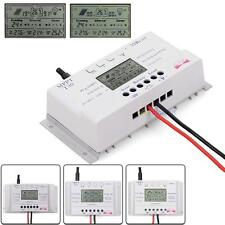Solar Panel Regulator LCD 10/20/30/40A 12V/24V MPPT Charge Controller 3 Timer#SP