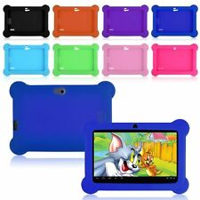 "7-inch Silicone Soft Case Cover For 7"" Android A23 / A33 Q88 Y88 Tablet PC Kids"