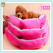 New Warm Pet Dog Bed Soft Material Kennel Nest Puppy Kitten House Free Shipping