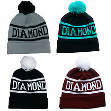 Hot Sales Hip-Hop Chic Fashion DIAMOND SUPPLY CO Beanie Unisex Knit Cap Wool Hat