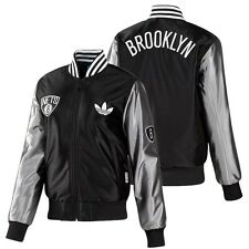 Adidas Originals Brooklyn Nets Bomber Jacket NBA Ladies Sports jacket black