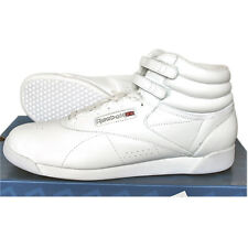 Reebok Freestyle Hi F/S Shoes Trainers Training shoes Leather White New