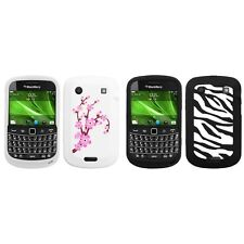 For BlackBerry Bold Touch 9900 9330 Silicone Design Skin Soft Phone Case Cover