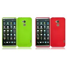 For HTC One Max Rubberized Matte Snap-On Hard Case Phone Cover