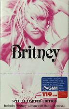 BRITNEY SPEARS Britney THAILAND SPECIAL LIMITED EDITION Cassette +Exclusive Card