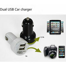 New Dual USB Mini Car Gnition Charger Bullet Adapter Charging For Android LG