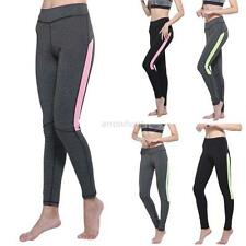 Womens Fitness Workout Yoga Running Sport Pants High Waist Leggings Activewear