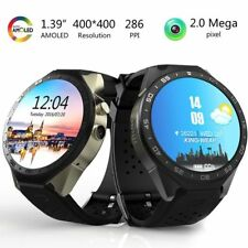 KW88 Android 5.1 Quad Core 4GB Bluetooth 3G Smart Watch GPS WIFI For IOS Android
