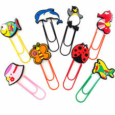 NOVELTY GIANT PAPER CLIP, BOOKMARKS, MEMO CLIP. FOR PARTY BAG, STOCKING FILLERS