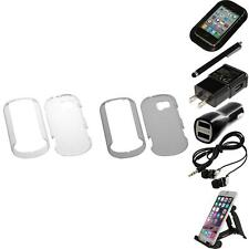 For LG Extravert VN271 Crystal Hard Snap-On Transparent Case Cover Accessories