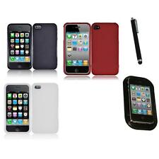 For Apple iPhone 4/4S Snap-On Design Hard Phone Case Cover Mount+Pen