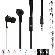 Noodle Stereo Handsfree Headset 3.5mm Earphones Headphones Earbuds