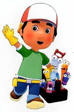 "5.5-10.5""  HANDY MANNY WALL SAFE STICKER CHARACTER BORDER CUT OUT"