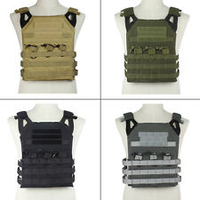 Tactical Airsoft Compact Operator Jumpable Plate Carrier JPC Light Weight Vest