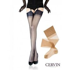 Cervin Capri 20 Deniers stockings Made in France seamless Classic