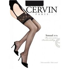 Cervin stockings Sensual made in France . Old fashion tstockings 20 Deniers