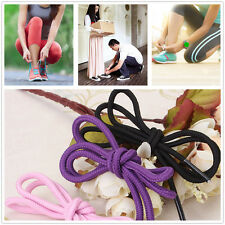 Round Athletic Shoelaces  Sport Hiking Work Boot Sneakers Shoe Laces Strings