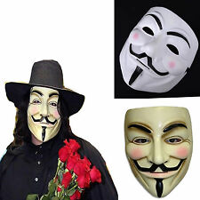Halloween Masks V for Vendetta Mask Guy Fawkes Anonymous fancy dress costume CH