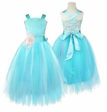 Hot Flower Girl Princess Dress Kid Party Pageant Wedding Bridesmaid Tutu Dresses