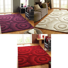 Flair Rugs Textures Realm Wool Blend Hand Carved Rug