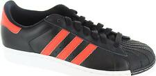 Adidas Originals Superstar II Mens Superstar 2 Black/red Super Star Trainers New