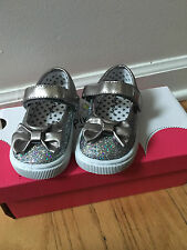 Girls size 5 Toddlers Jumping Beans Sparkly Mary Jane Shoes NEW IN BOX