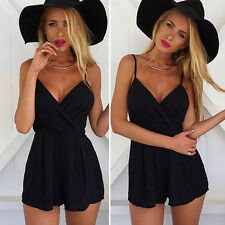 Sexy Women Summer V Neck Jumpsuit Bodycon Party Playsuit Clubwear Shorts Romper
