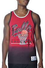 Chicago Bulls Color Fade Tank Top Mitchell and Ness NBA Mens