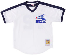 White Sox 1981 Jersey Shirt Carlton Fisk Replica MLB Mens Top Authentic Black