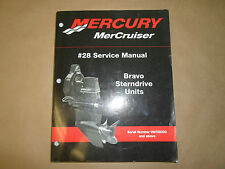Mercury MerCruiser Bravo Sterndrive Units #28 Service Shop Manual OEM Boat x