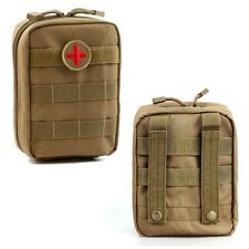 Durable Utility Molle Tactical Military 900D Bag Medical First Aid Pouch Case